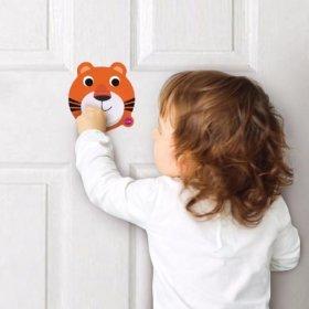 "Vertiplay Игрушка на стену - дверной молоток ""Тигр"""