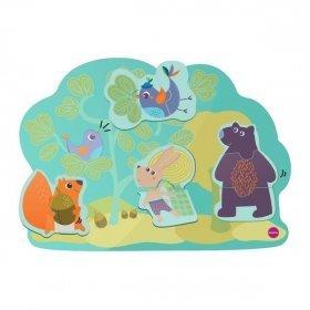 """Vertiplay Игрушка на стену - магнитные пазлы """"Кролик Хоппи и его друзья"""""""