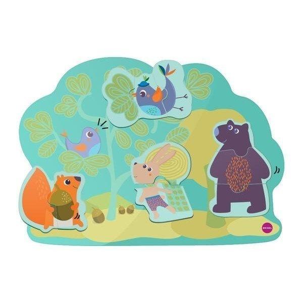Vertiplay Игрушка на стену - магнитные пазлы Кролик Хоппи и его друзья