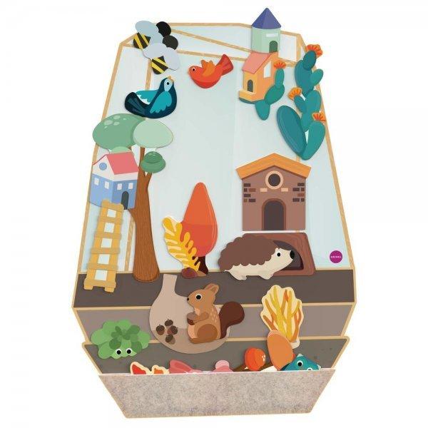 Vertiplay Игрушка на стену- магнитная игра Зачарованный сад